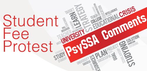 PsySSA Comments – Student Protests