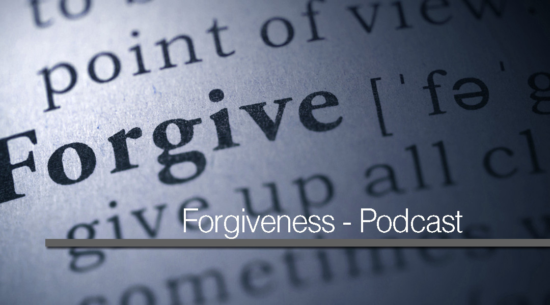 The importance/significance on Forgiveness