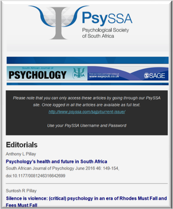 SAJP Issue 2 is Now Available Online