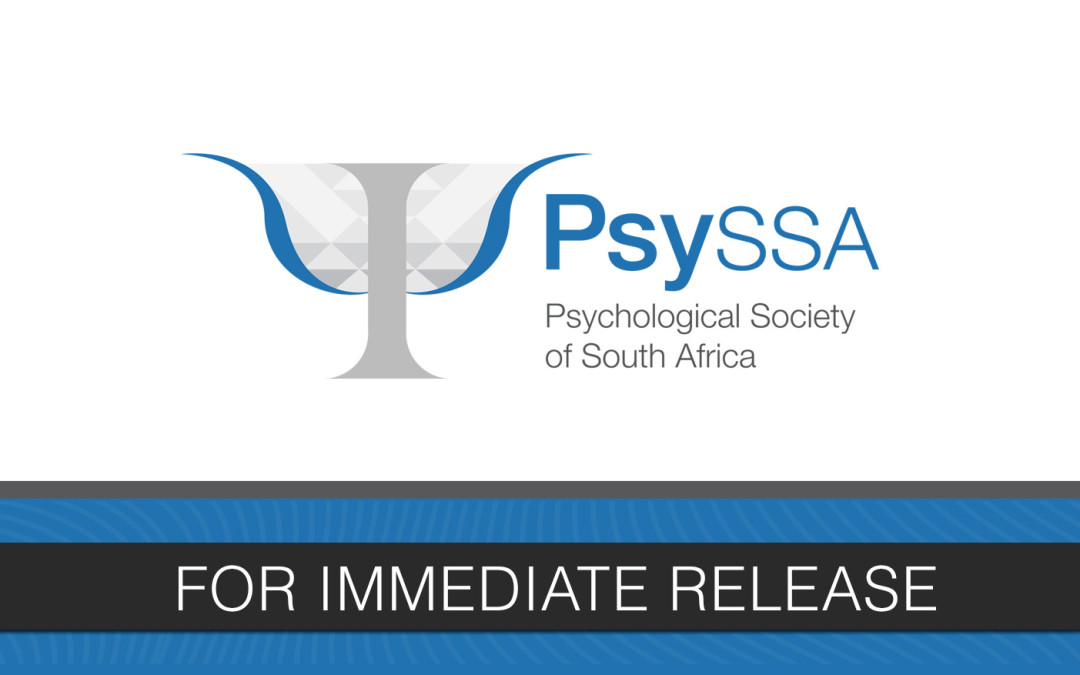 The Psychological Society of South Africa's Sexuality and Gender Division Issues an Open Statement Supporting Caster Semenya