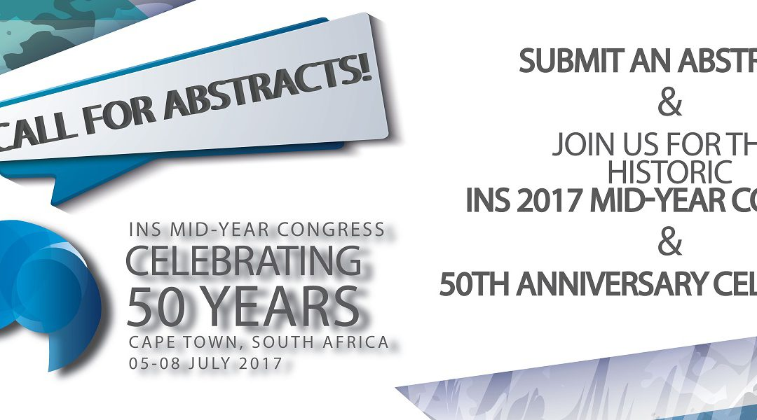 INS Mid-Year Congress: Celebrating 50 Years: Abstract Submission Now Open