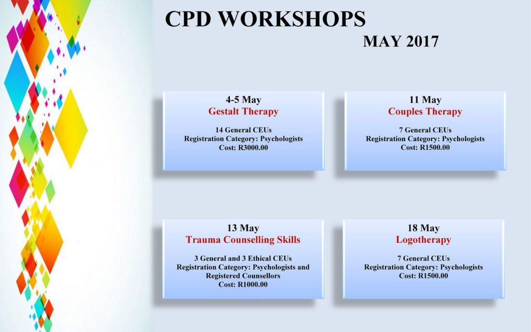 CPD Workshops May 2017