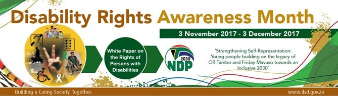 Disability Rights Awareness Month (DRAM 2017)