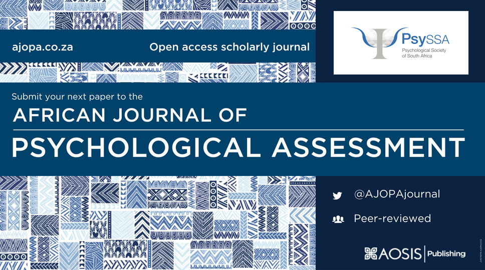 SPECIAL CALL FOR PAPERS: African Journal of Psychological Assessment
