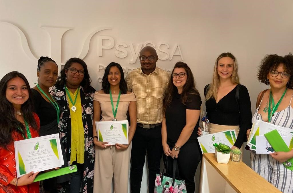 PsySSA Student Division Mentorship Programme Awards Ceremony, 14 November 2019