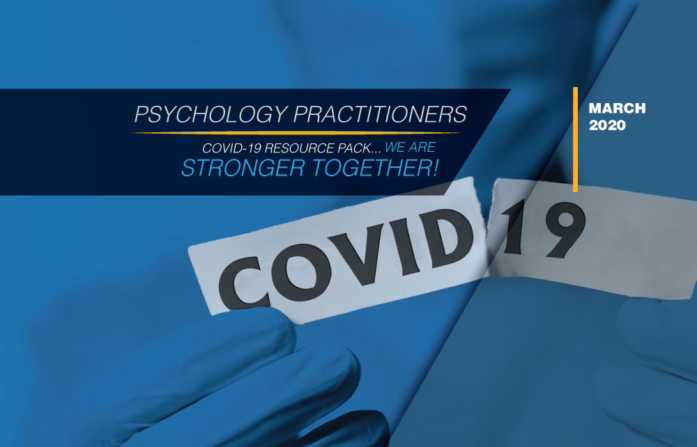 COVID-19 Resource Pack for Psychology Practitioners