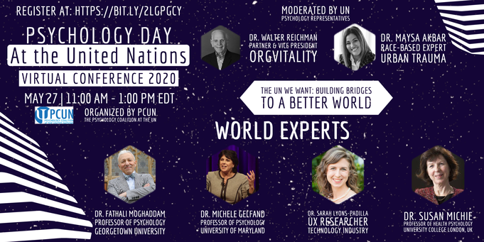 Psychology Day at the United Nations – 27th May 2020