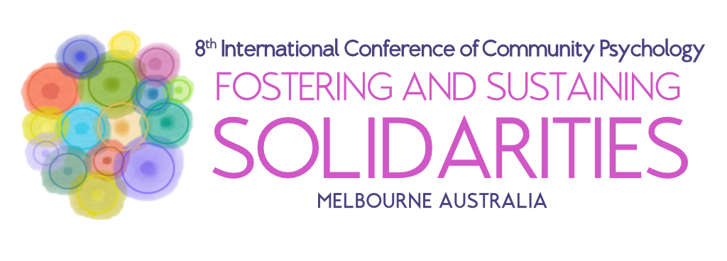 Invitation: 8th International Conference of Community Psychology: Fostering and Sustaining Solidarities: Free Live Webinar