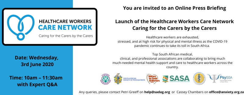 Online Press Launch of the Healthcare Workers Care Network