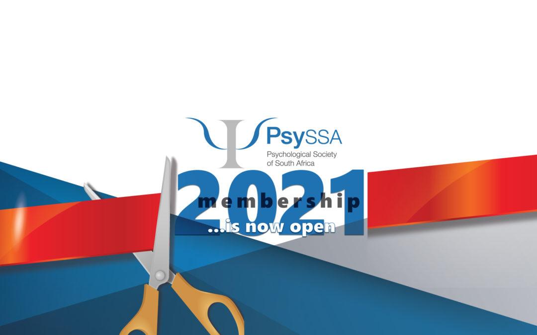 PsySSA Membership 2021! Now Open!