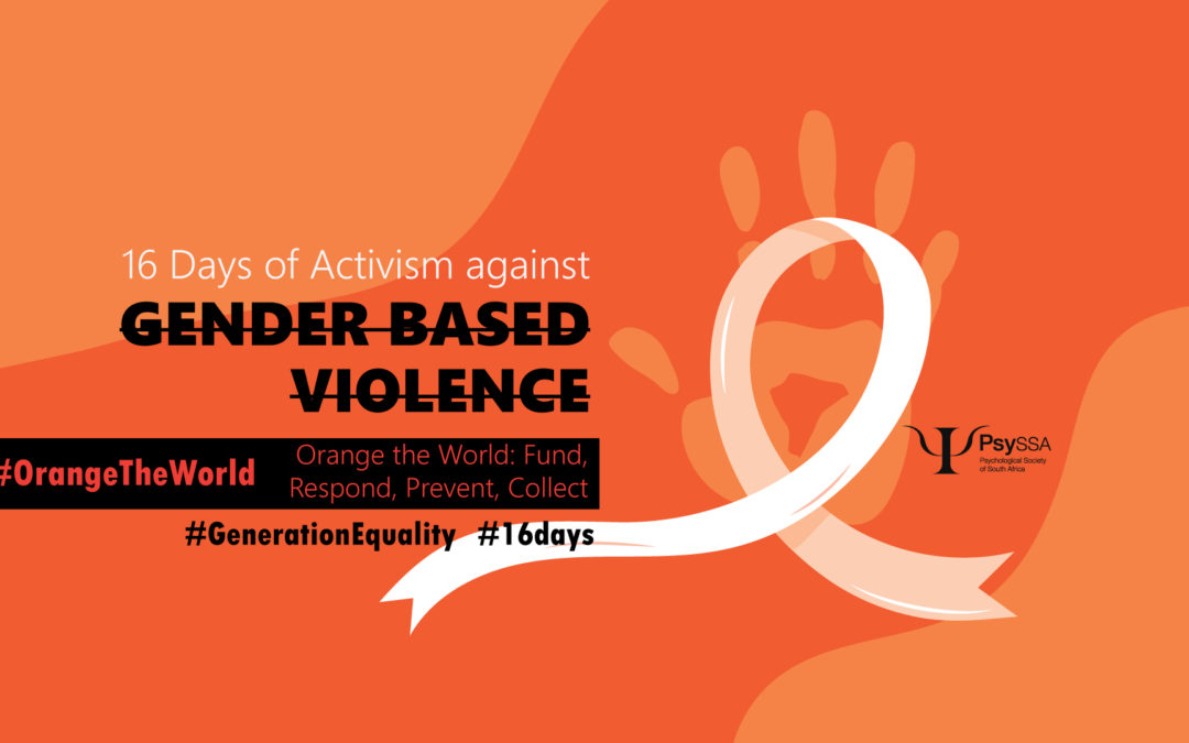 16 days of activism – relevance for trans and gender diverse people