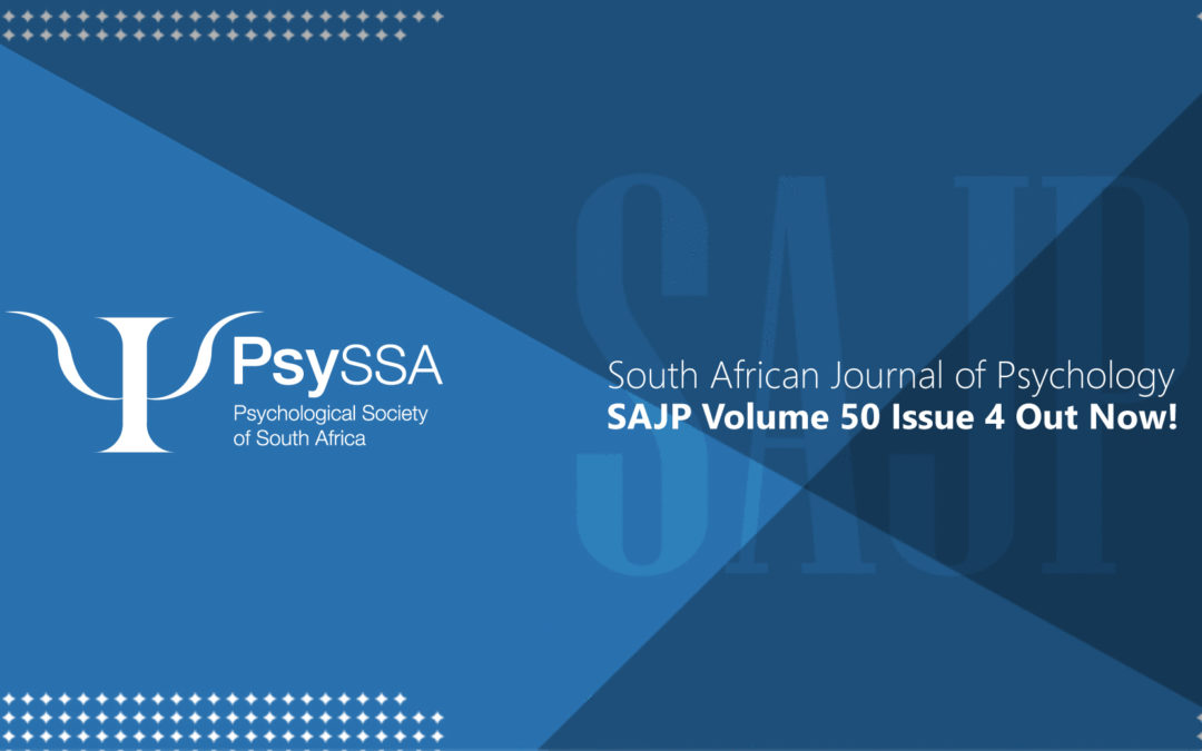 SAJP: Volume 50, Issue 4 2020 is Now Available!