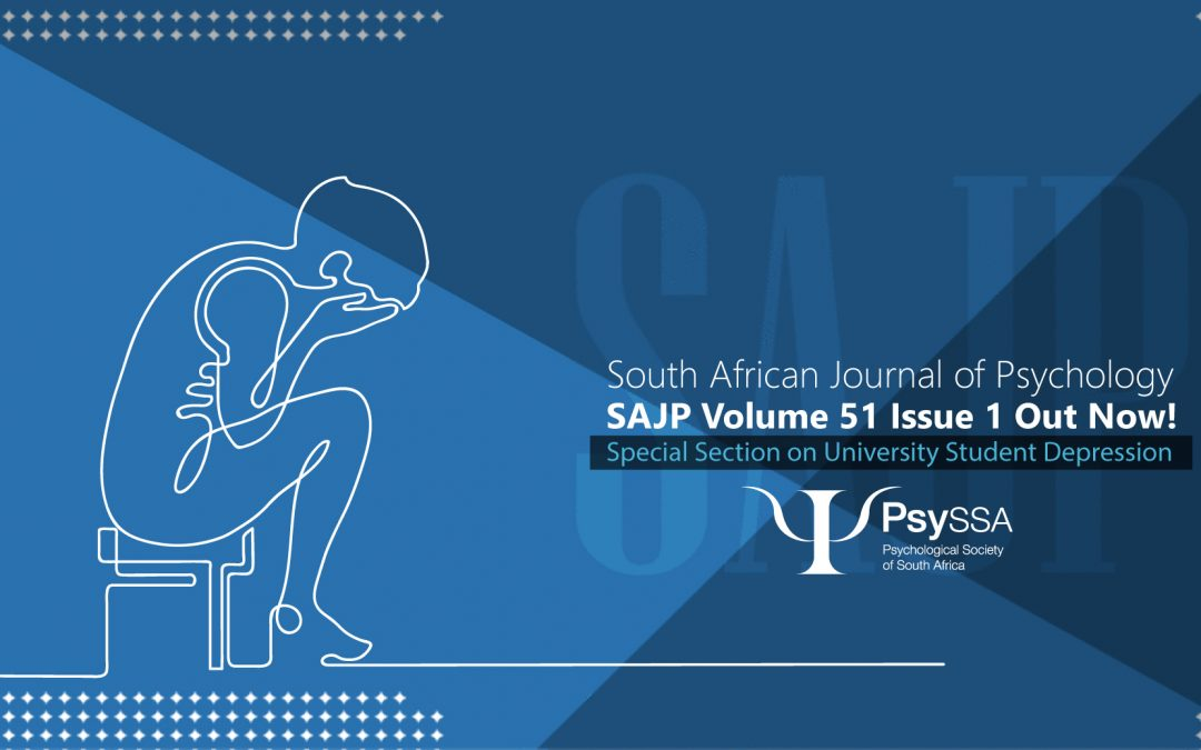 Out Now! SAJP Volume 51 Issue 1 March 2021