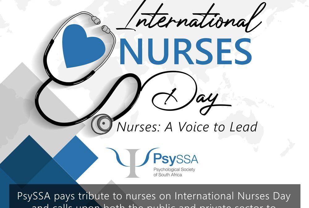 "International Nurses Day 2021: ""Nurses: A Voice to Lead"""