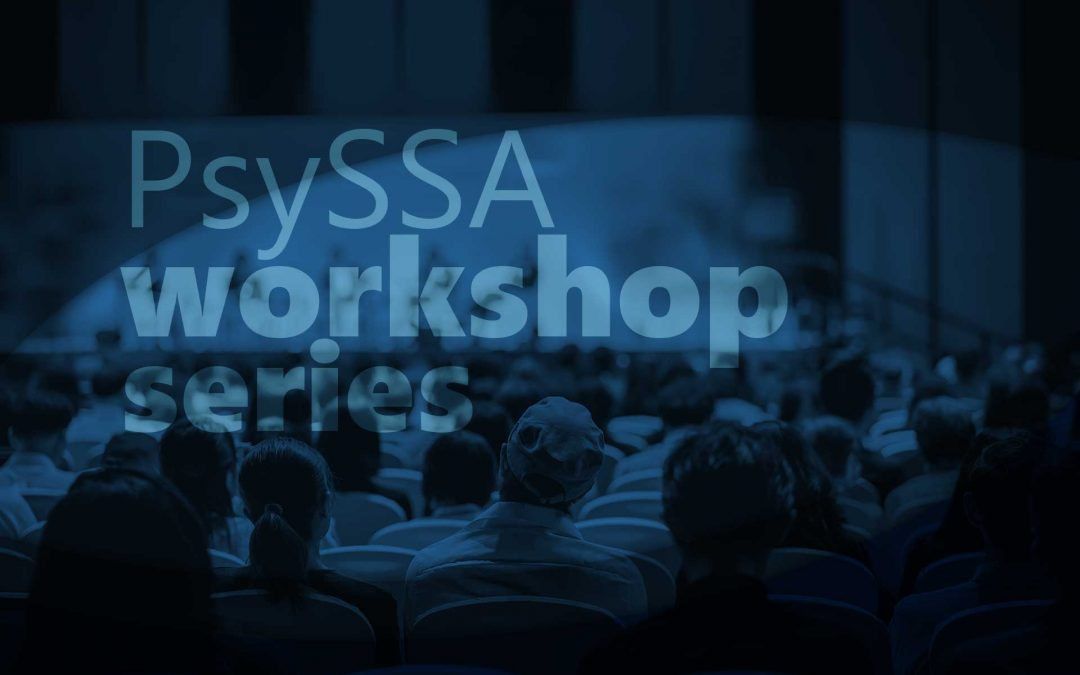 PsySSA Workshop Series: Workshop 7: Writing for scholarly publication. How to improve your chances of success