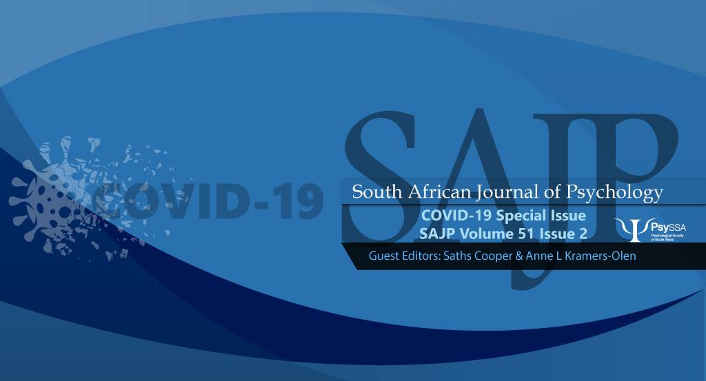 Out Now! SAJP Volume 51 Issue 2 June 2021: COVID-19 Special Issue