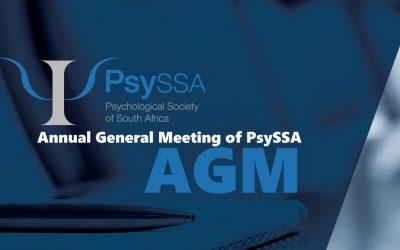 Annual General Meeting of PsySSA