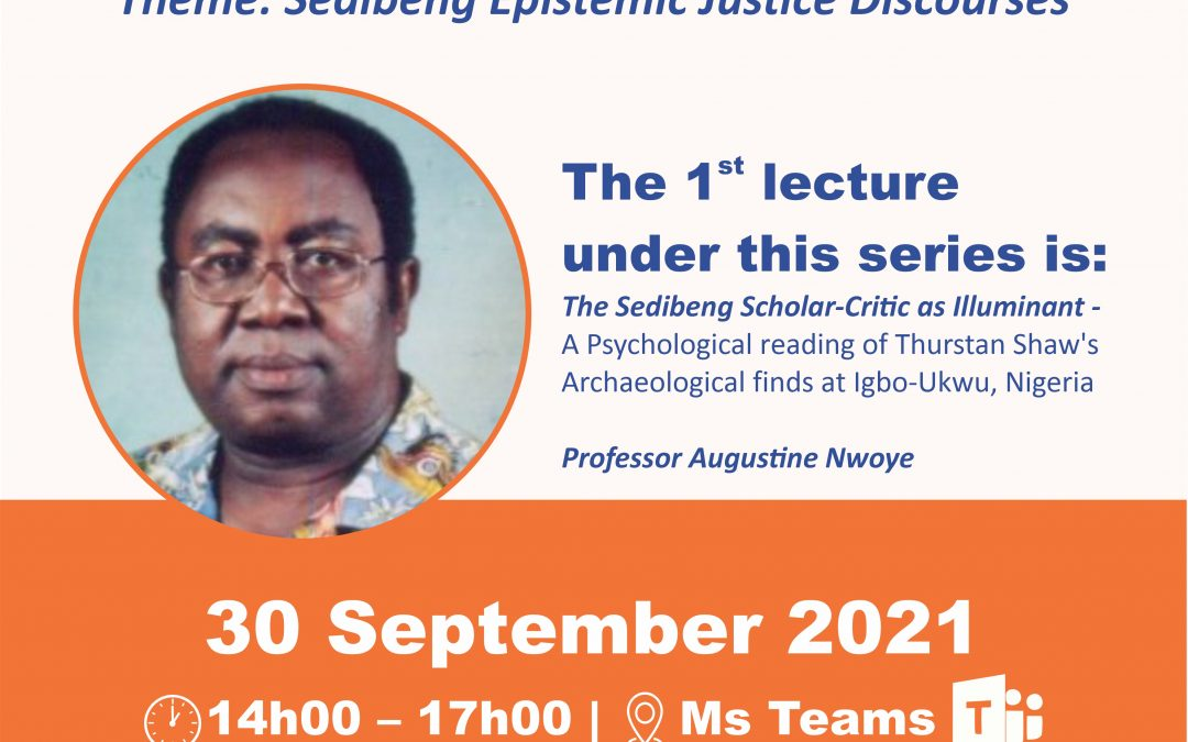 Sediba Epistemic Justice Discourses Webinar